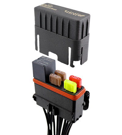 12 way Relay & Fuse Holder
